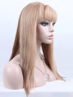 human hair lace front wig for woman in party or festival