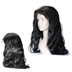 Factory Wholesale 100% Unprocessed Virgin Lace Front Wig