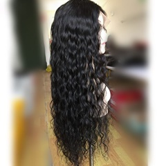 2016 Hot Style Brazilian Virgin Human Hair Wave Lace Front Wig