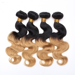 Virgin Malaysian Hair Extensions Double Weft 100% Natural Human Hair
