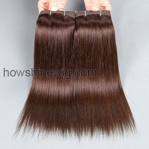 Medium brown weft