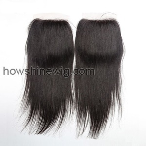 2016 Hot Sale Virgin Mink Hair Silk Straight Silk Base Closure