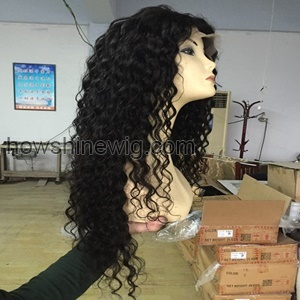 Big Discount! Factory Wholesale 100% Unprocessed Virgin Human Hair Full Lace Wig