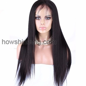 High ponytail full lace wigs