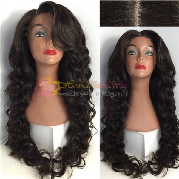wave full lace wig