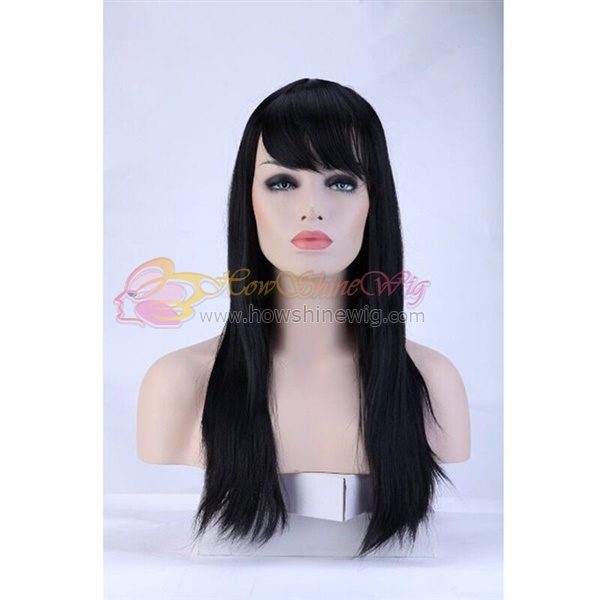 Grade 9A Virgin Human Hair Straight Lace Front Wig