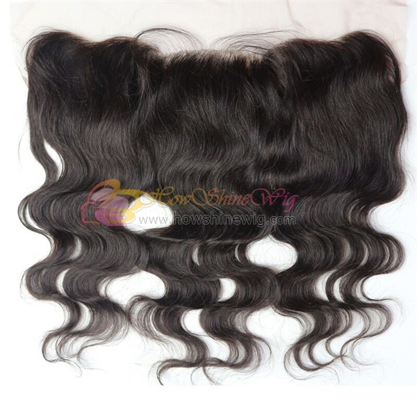 2016 New Style Grade 9A Virgin Human Hair Body Wave 13*4 Lace Frontal