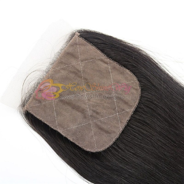 virgin hair silk closure
