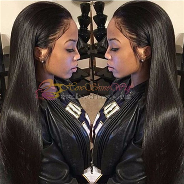 Indian human hair full lace wig
