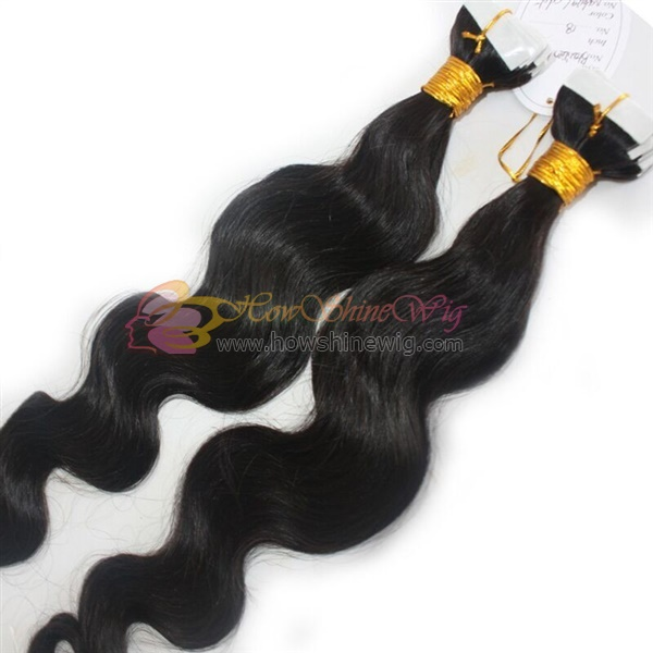 Double Side Tape Virgin Remy Hair Extensions
