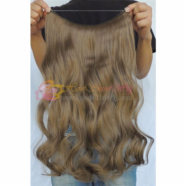 Flip in extension unprocessed virgin brazilian wavy hair