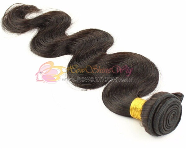 Natural color hair bundle